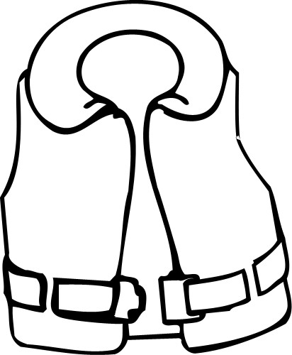 Coat Clipart Black And White
