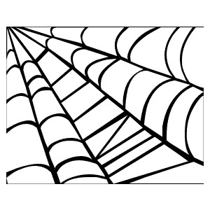 300x300 Halloween Clipart Spiderweb