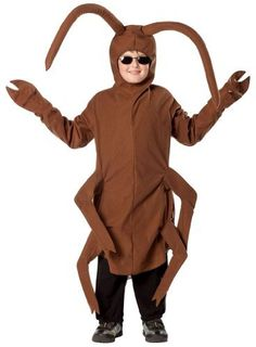 236x320 Cockroach Costume, Brown, Bodysuit With Sleeves Funny Side
