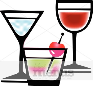 300x278 Cocktail Clipart Bar Clipart