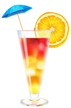 236x360 Cocktail Tequila Sunrise Png Clipart Festa Havaiana