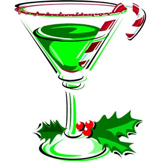 325x325 Cocktail Clipart Christmas