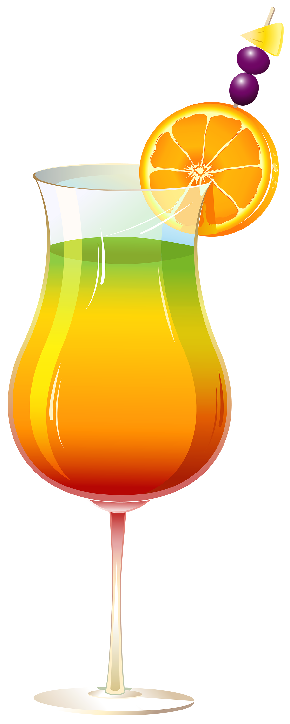 1204x3000 Exotic Cocktail Png Clipart