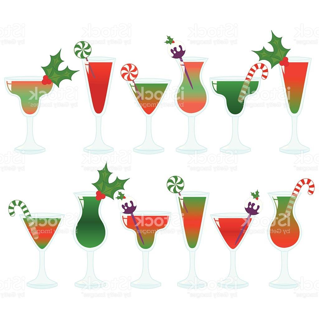 1024x1024 Best Hd Christmas Cocktail Clip Art Vector Drawing Free Vector
