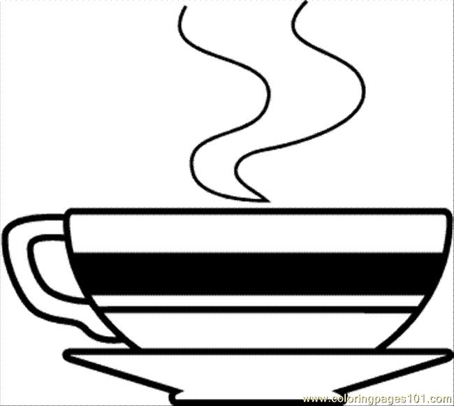 Coffee Bean Clipart Black And White