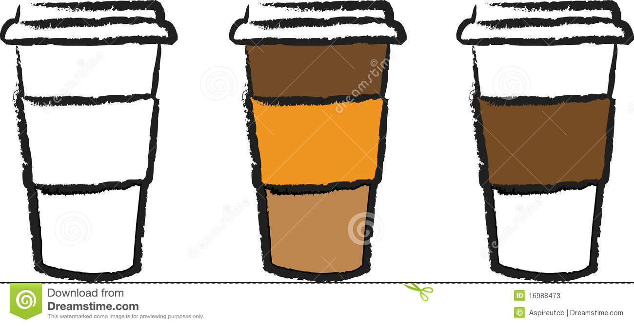 1300x670 Cup Go Coffee To Clipart