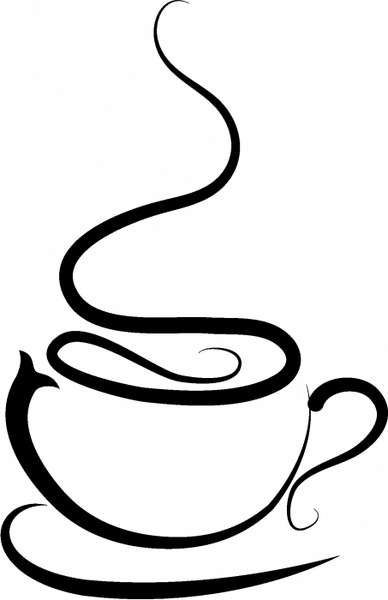 388x600 Free Clip Art Coffee Cup Free Vector Download 2