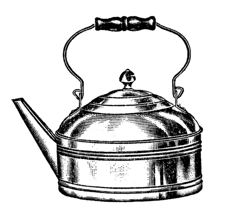 1500x1402 Vintage Kitchen Clip Art
