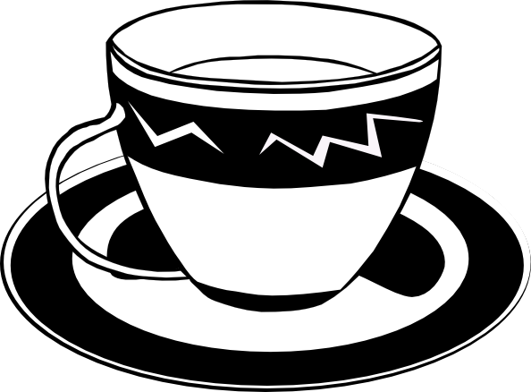 594x438 Coffee Cup Clip Art Free Vector 4vector