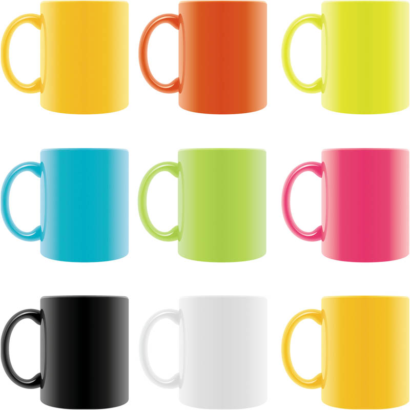 800x800 Coffee Cup Templates Vector Free Stock Vector Art