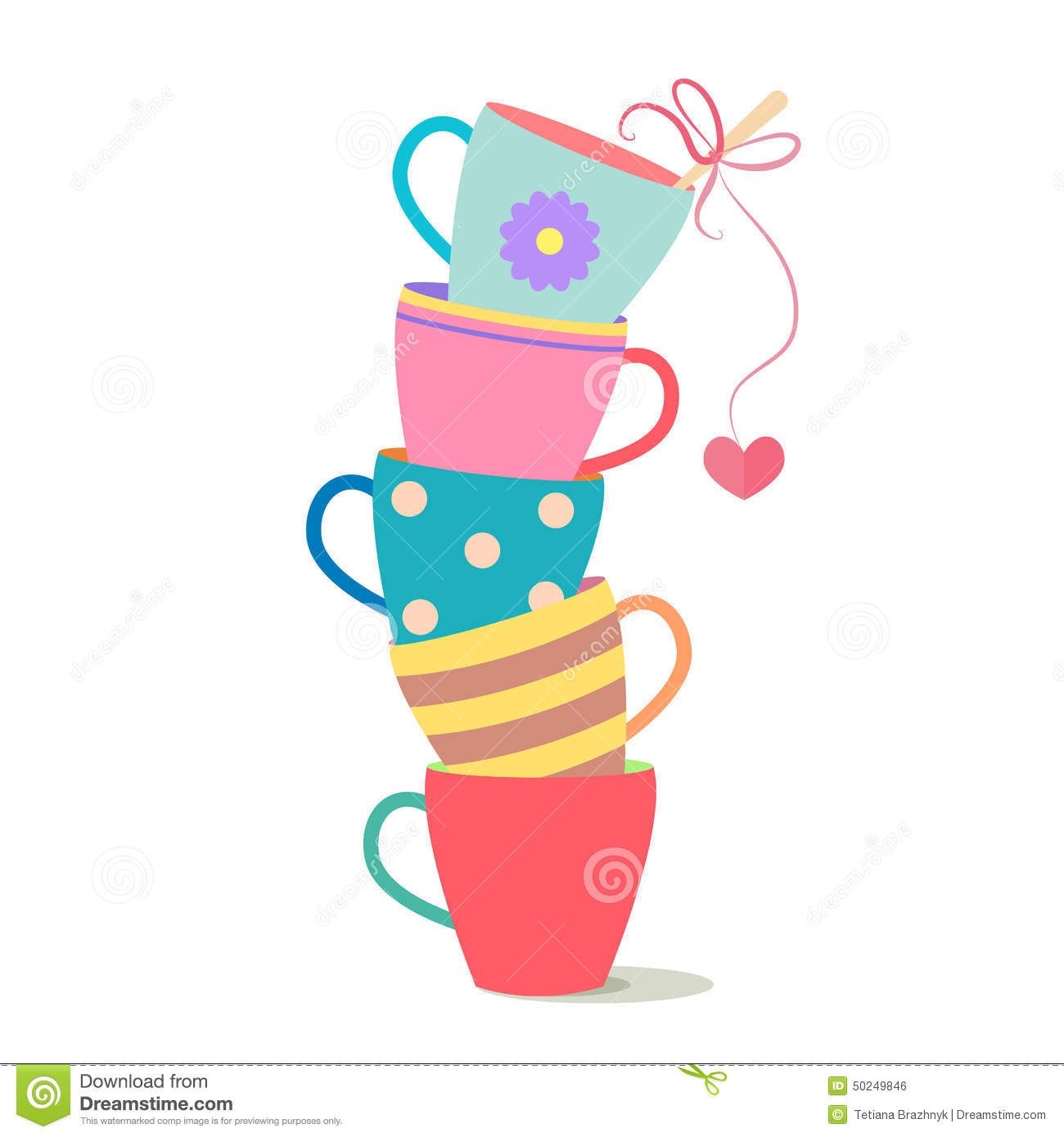 1300x1390 Colorful Cup Clipart, Explore Pictures