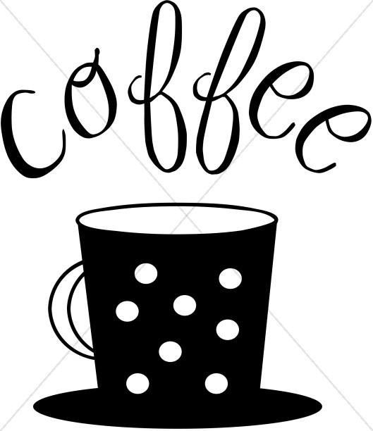 529x612 Fanciful Coffee Mug Image Refreshments Word Art
