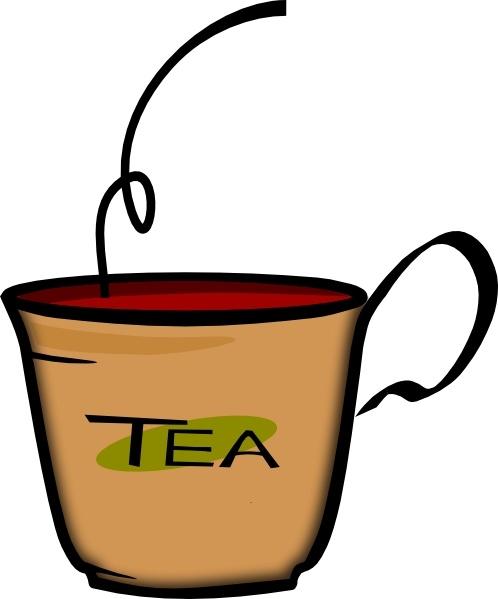 498x599 Printerkiller Cup Of Tea Clip Art Free Vector In Open Office