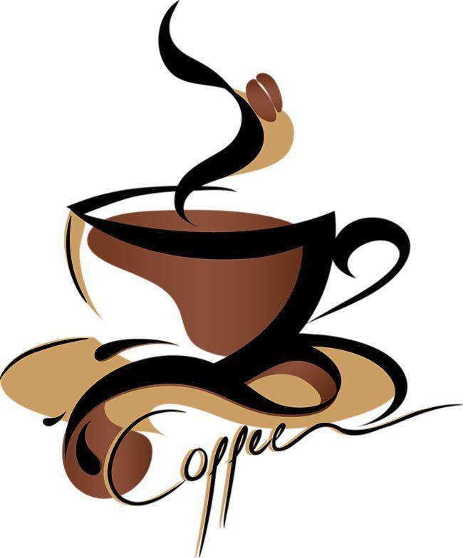 650x784 Retro Clipart Coffee Cup