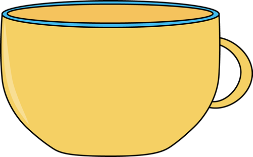 500x311 Yellow Cup Clip Art