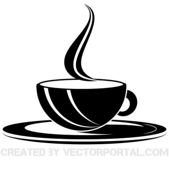 Coffee Cup Vector Clipart