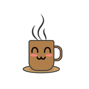 Happy Coffee Clipart