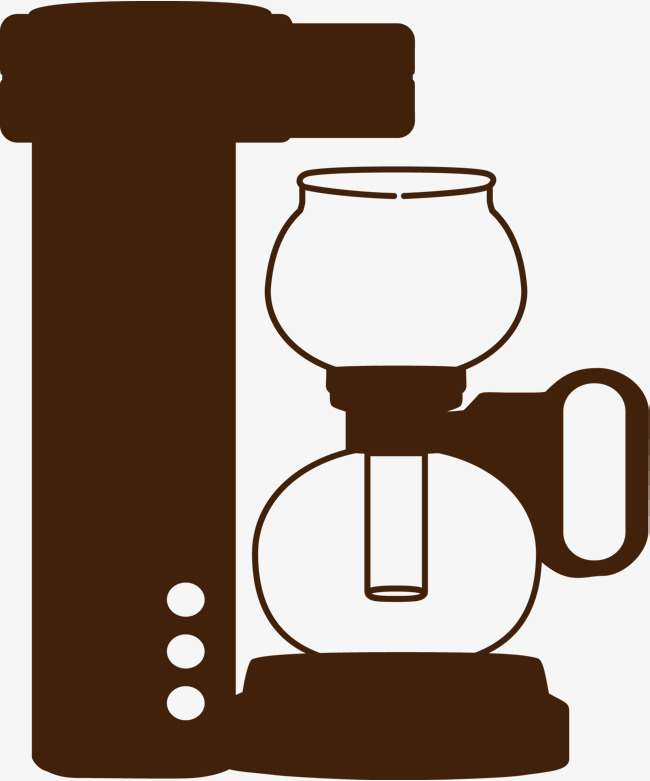 650x781 Hand Painted Coffee Maker, Coffee, Coffee Brush, Brief Strokes Png