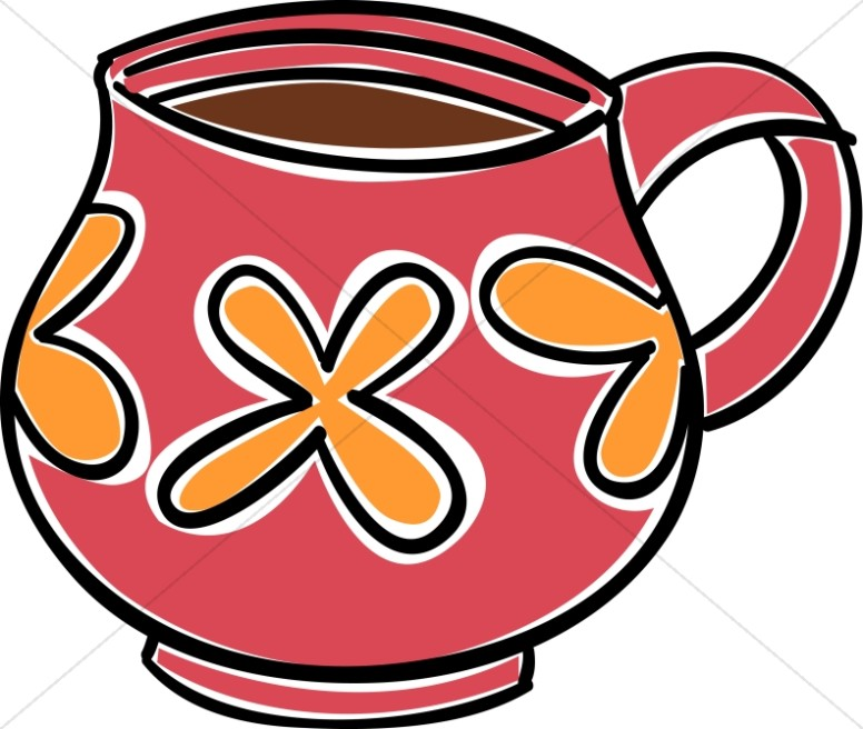 776x656 Orange Clipart Coffee Mug