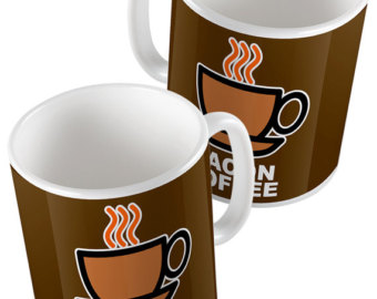 340x270 Bacon Coffee Mug Etsy