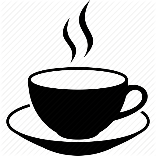 512x512 Breakfast, Cafe, Cup, Drink, Hot Coffee Mug, Java, Tea Icon Icon