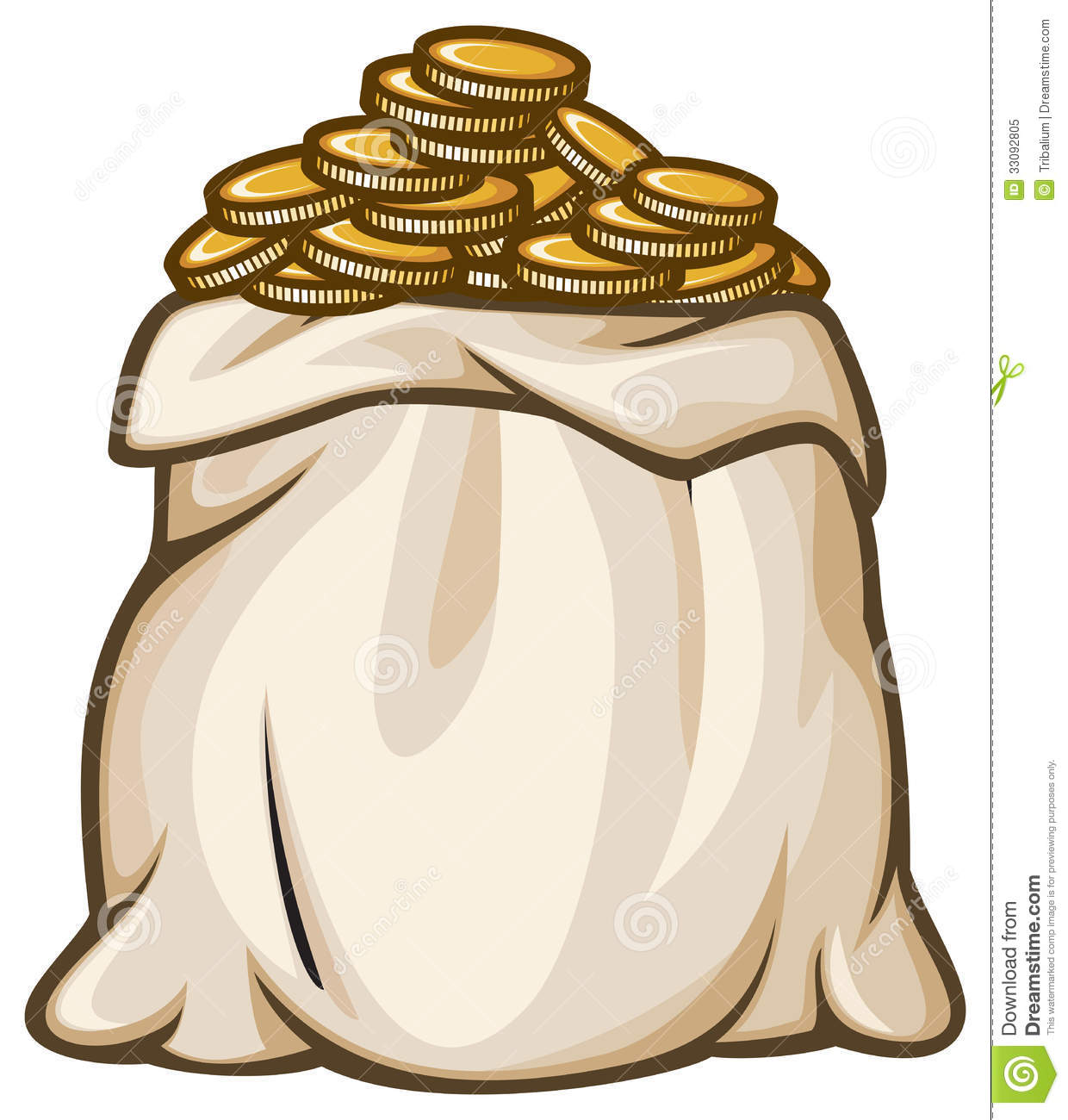 1240x1300 Coin Clipart Bag Gold Coin