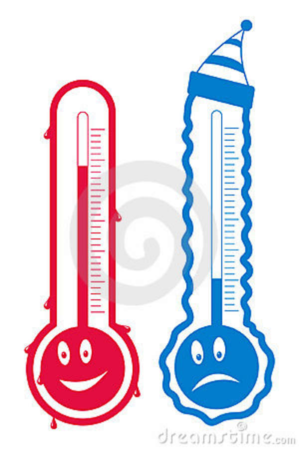 600x900 Cold Weather Thermometer Clipart