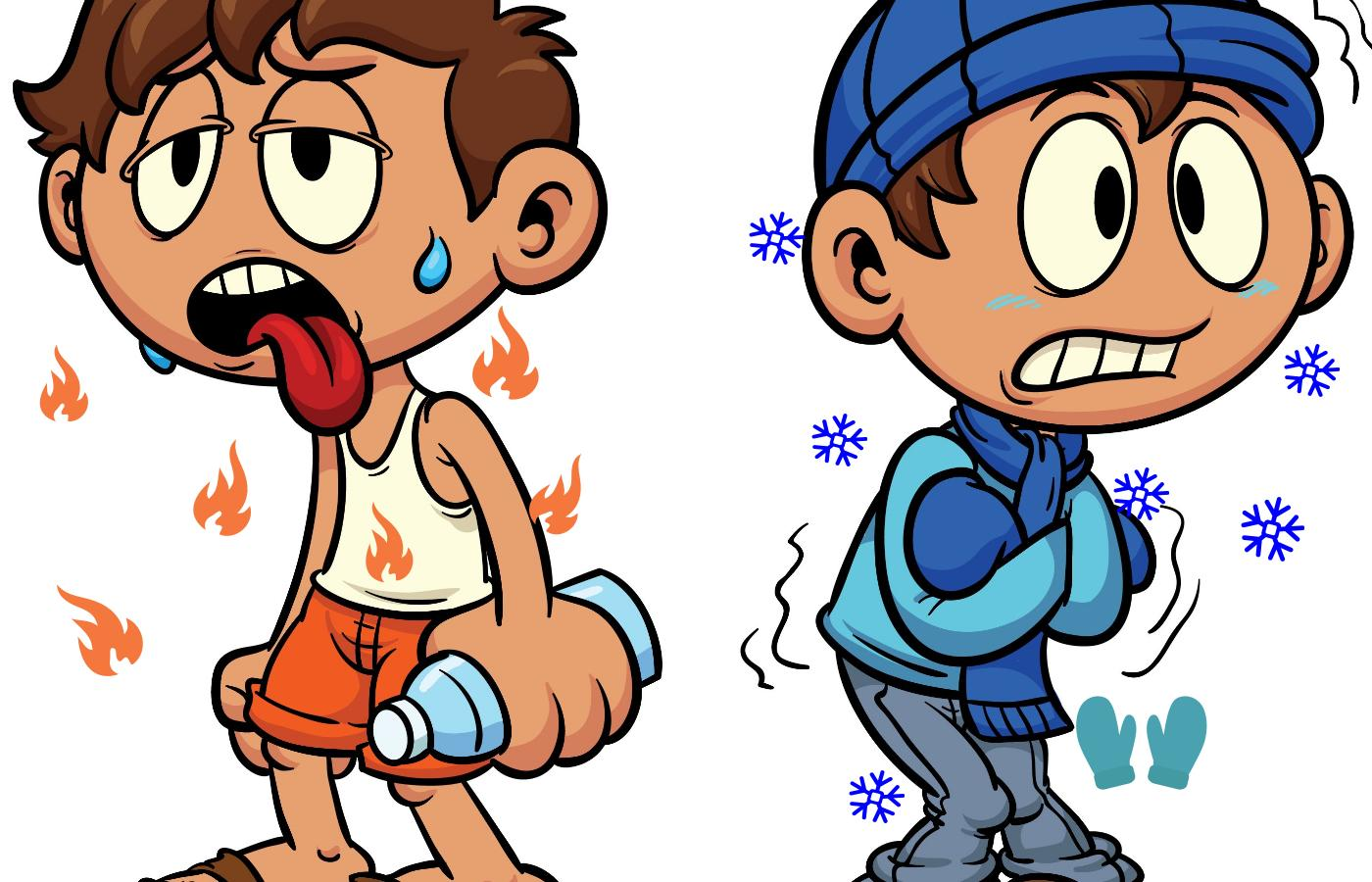 Cold People Clipart Free Download Best