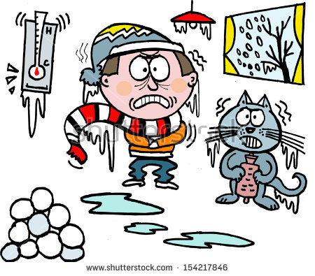 450x395 Ice Clipart Cold Person