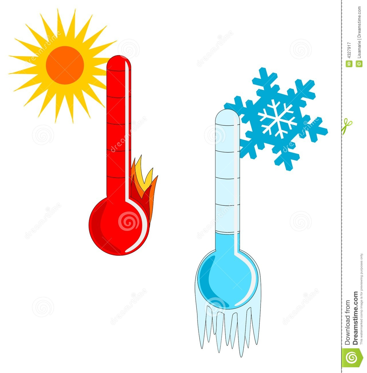 1280x1300 Cold Weather Thermometer Clipart