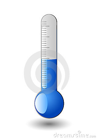 316x450 Freezing Thermometer Clip Art