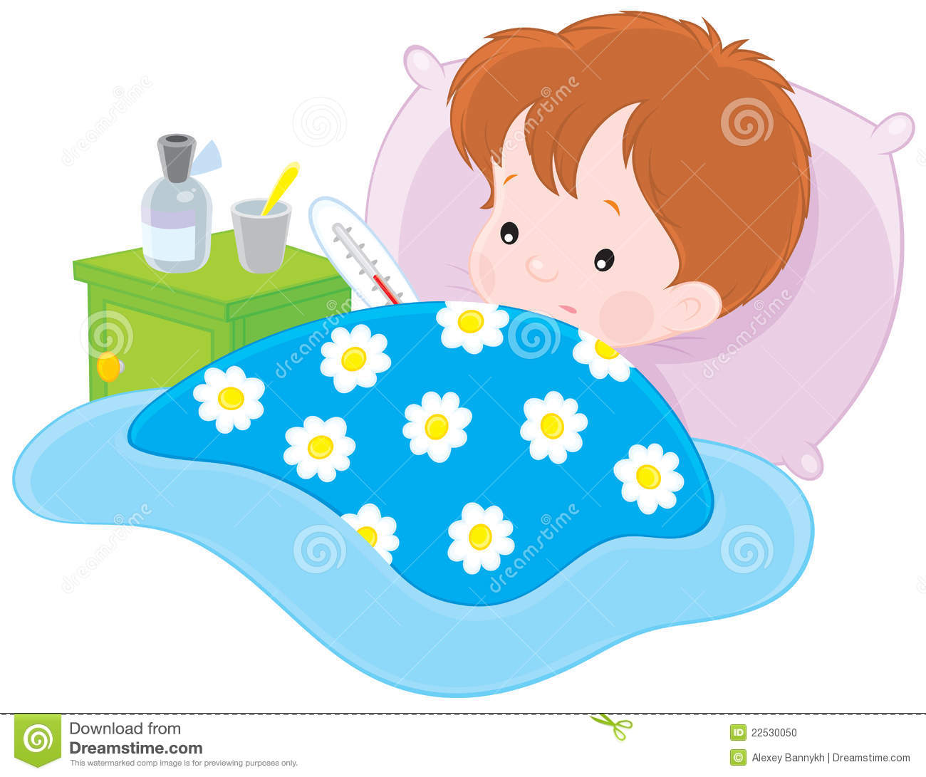 1300x1091 Cold Clipart Sick Kid