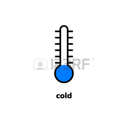 450x450 Temperature Icon, Clip Art. Narrow Range Mercury Thermometer