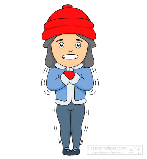 510x550 Cold Weather Clip Art