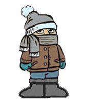 166x210 Cold Weather Clip Art