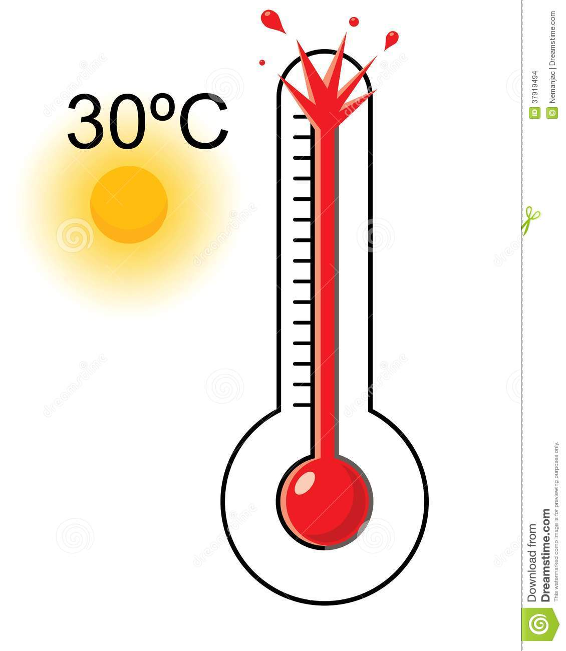 1130x1300 Cold Clipart Thermostat