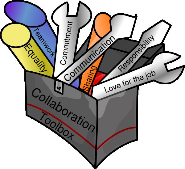 600x547 Collaboration Toolbox Clip Art