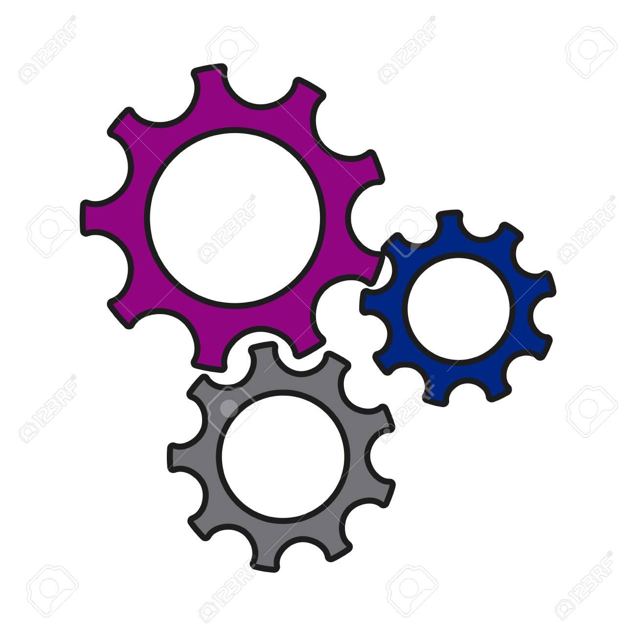 1300x1300 Gears Wheel Cogs Teamwork Idea Collaboration Vector Illustration