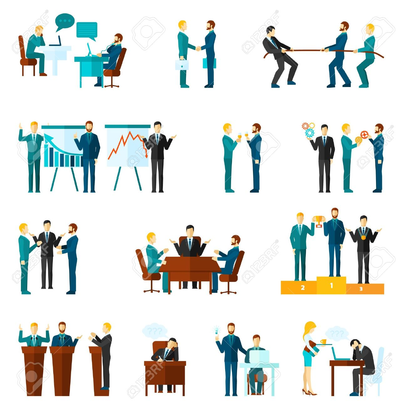 1300x1300 Meeting Clipart Vector