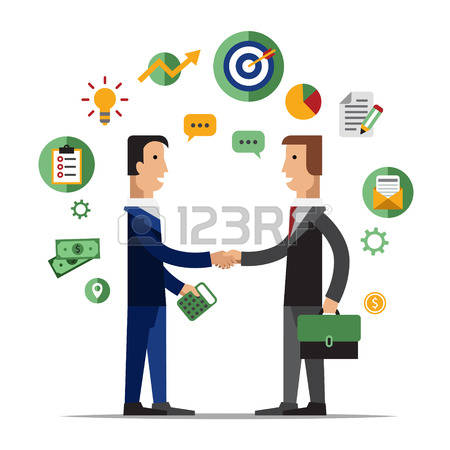 450x450 Professional Clipart Business Collaboration