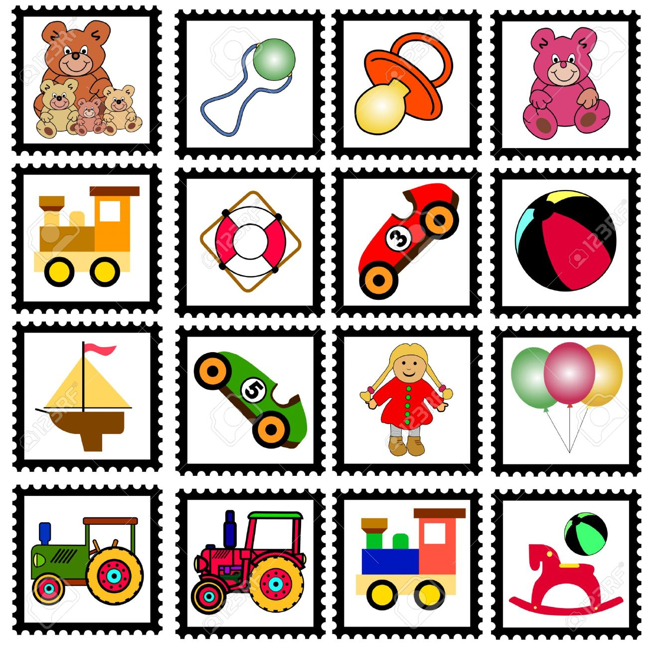 1300x1297 Stamp Clipart Stamp Collection