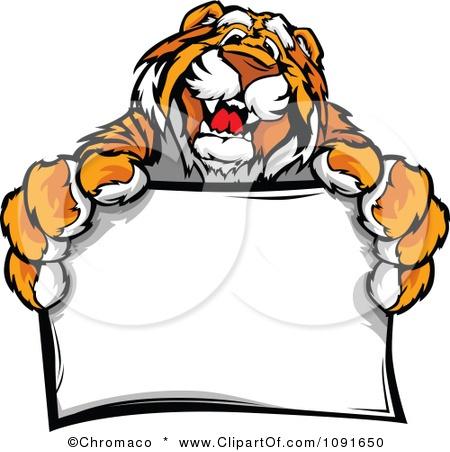 450x452 Tigres Clipart Marks