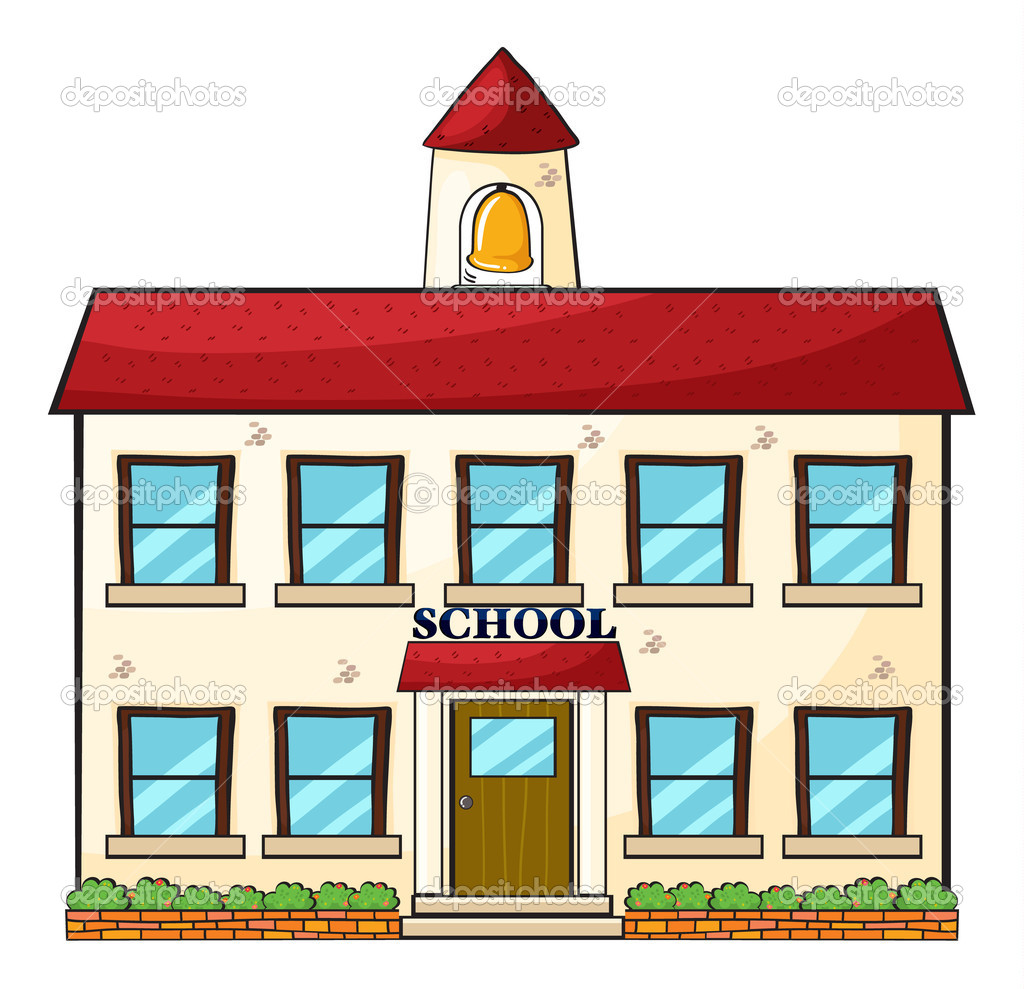 1024x989 College Building Clipart