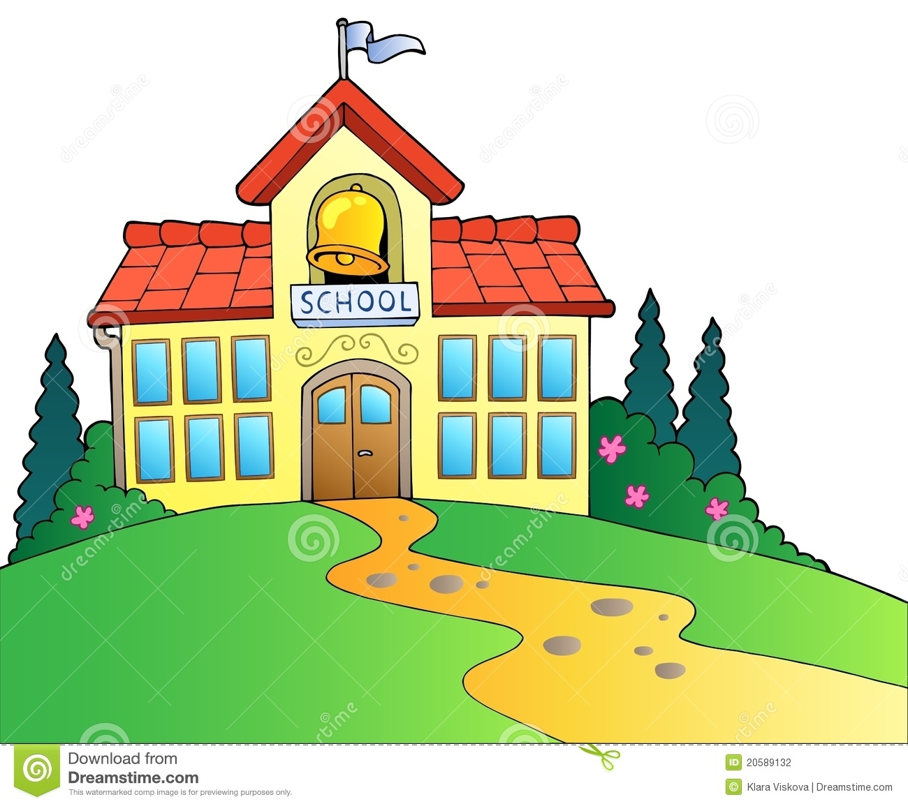 1300x1155 College Building Clipart