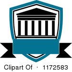 150x149 University Building Clip Art University Building