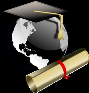 285x298 Graduate Clip Art