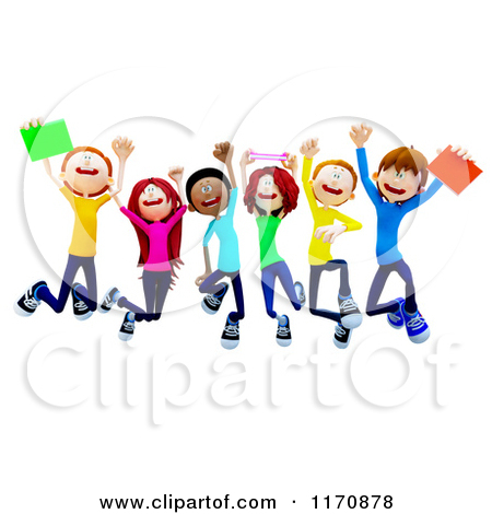 450x470 College Clip Art 1170878 Clipart Of A Group Of 3d College Students