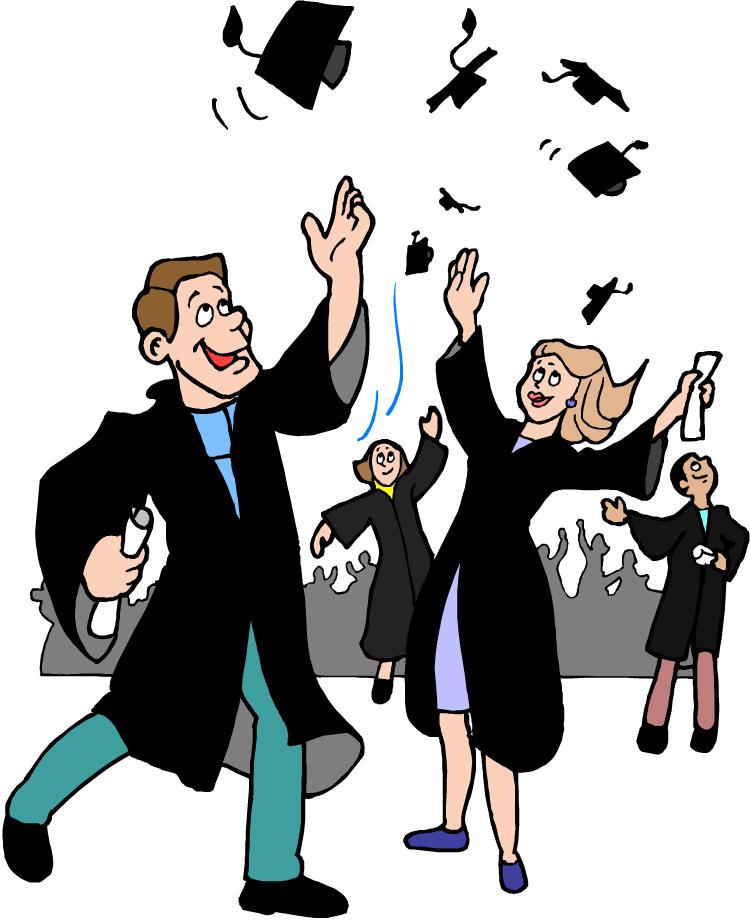 750x921 Graduation Clipart College Student