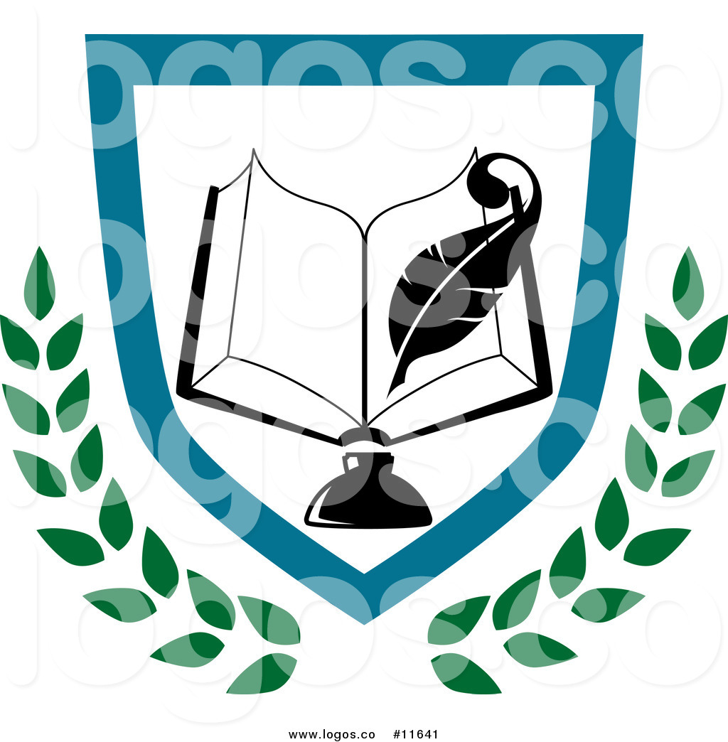 1024x1044 Royalty Free Clip Art Vector Logo Of A University Or College Book