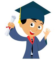 198x210 Free Graduation Clipart